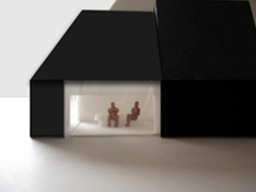 Wonen met licht II, aanzicht maquette